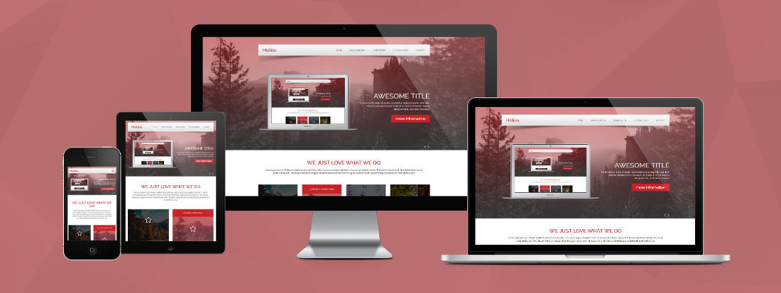 Responsive Design - Template Helios CP1