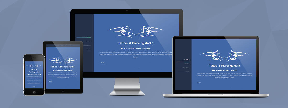 Responsive Design - Template Hyperspace CP2
