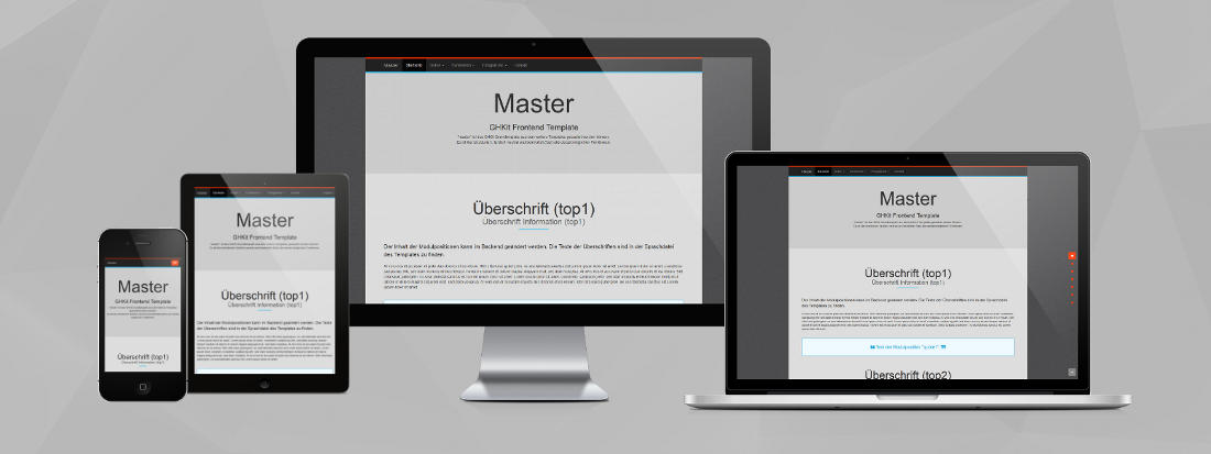Responsive Design - Template Master CP1